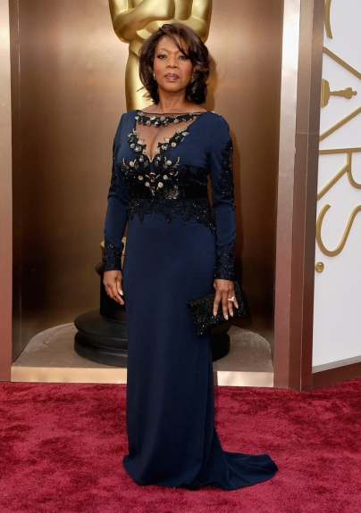 Alfre Woodard - 2014 Oscars - Black Celebrities