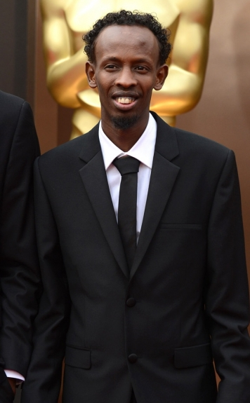 Barkhad Abdi - 2014 Oscars - Black Celebrities