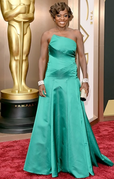 Viola Davis - - 2014 Oscars - Black Actress