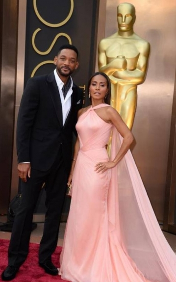 Will Smith and Jada Pinkett Smith - 2014 Oscars - Black Celebrities