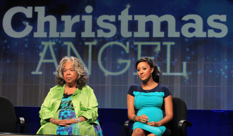 black-actresses-tamera-mowry-christmas-angel