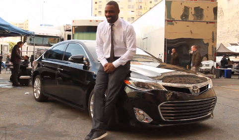 Black-Actors-Idris-Elba-Toyota-Avalon-Commercial