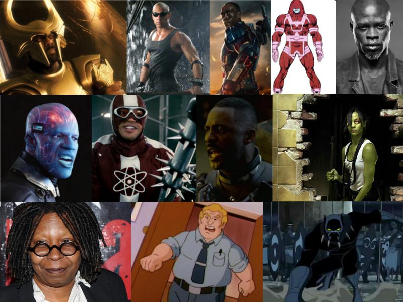 BLACKACTORSINSUPERHEROFILMS2013-2014
