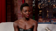 Lupita Nyong'o's Interview Was Going Great Until Letterman Brought Up Jennifer Lawrence